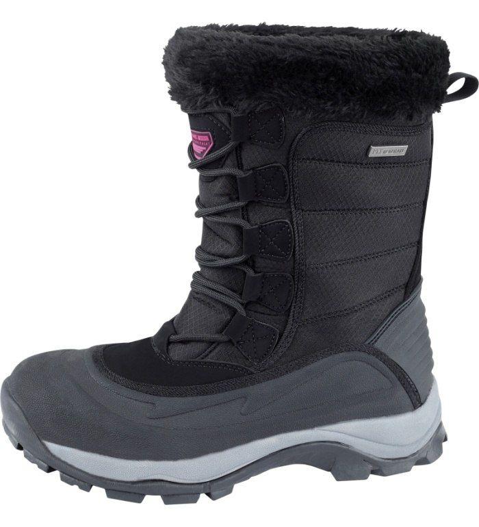 ALPINE PRO NORTH WIND WM Dámská zimní obuv LBTB005990 černá 40