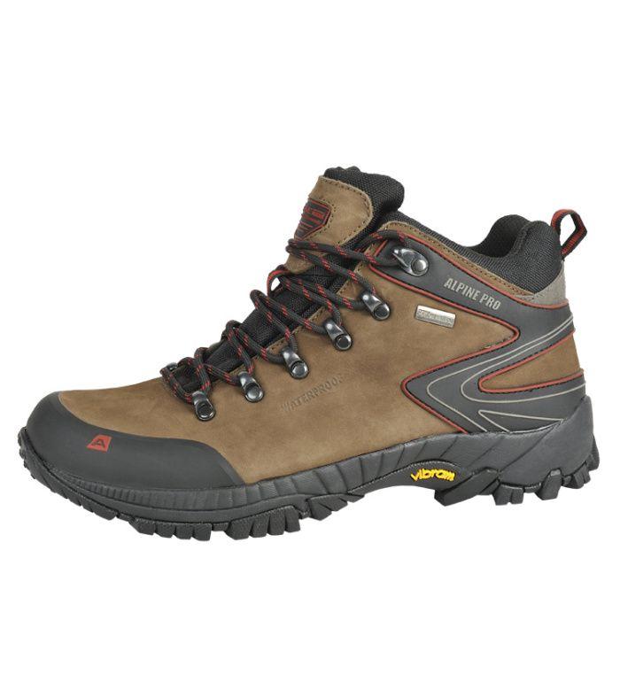 ALPINE PRO WINDIGO MID PTX Uni trekkingová obuv UBTB039904 shitake 46