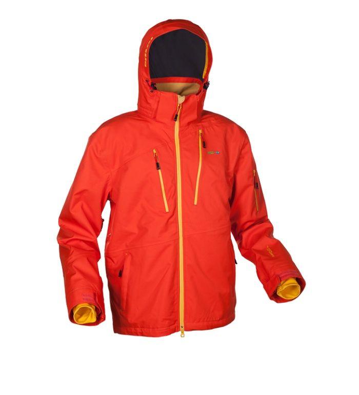 ENVY GRANDY Snowboardová bunda ZM0201ENORN Oranžový potisk XL