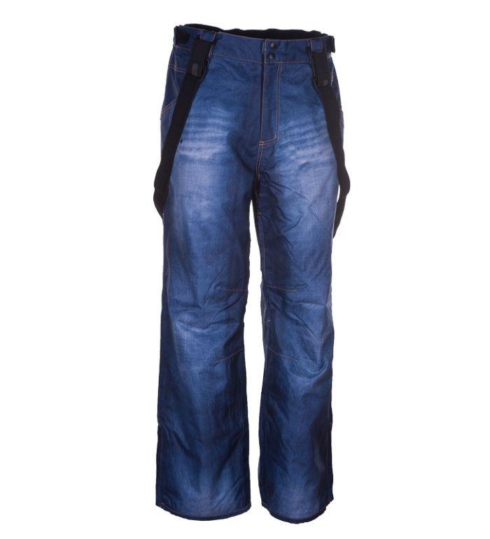 ENVY ISKAN Pánské dvouvrstvé snowboardové kalhoty ZM0207ENBLU Modrá S