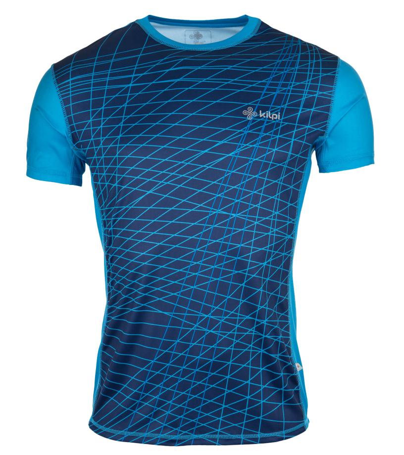KILPI Pánské tričko RAINBOW EM0057KIBLU Modrá XXL