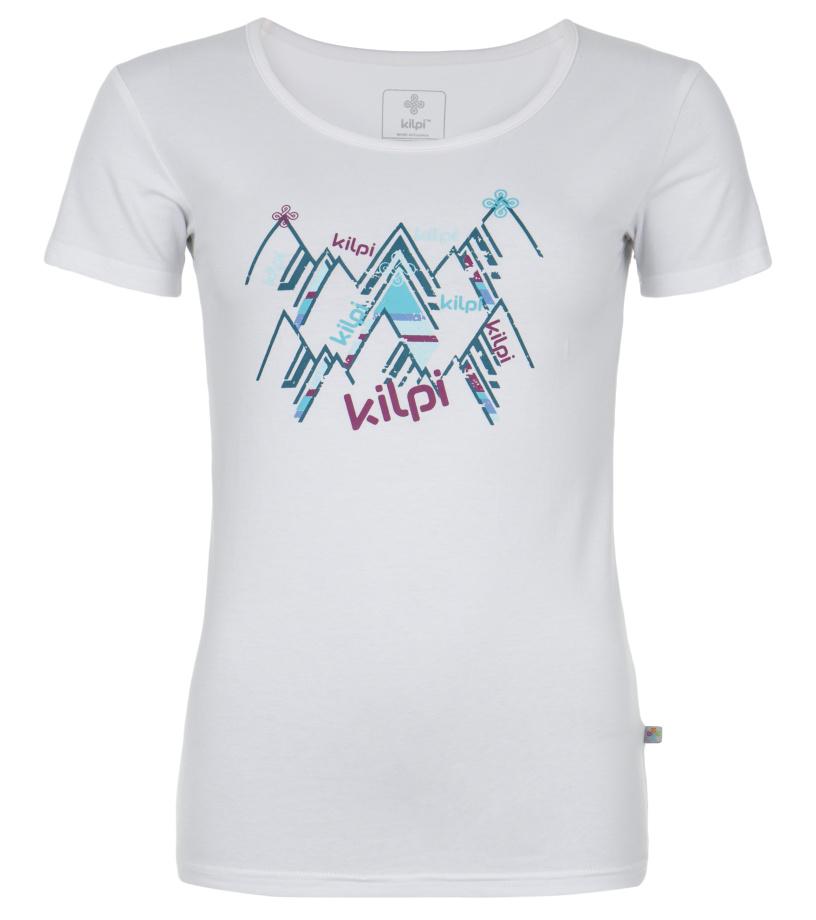 KILPI Dámské triko CORA DL0053KIWHT Bílá 40