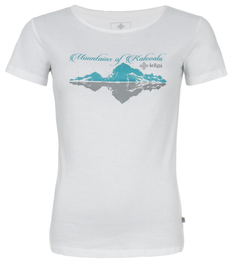 KILPI Dámské triko TARN EL0146KIWHT Bílá 40