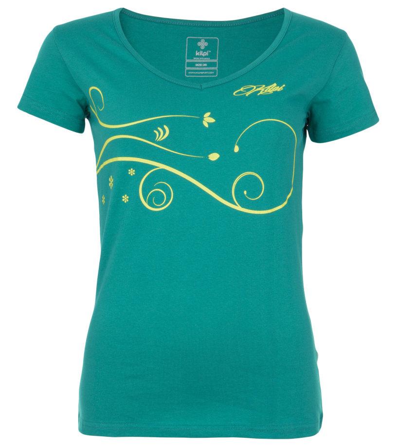 KILPI Dámské triko MONCAYO-W EL0150KIBLU Modrá 34