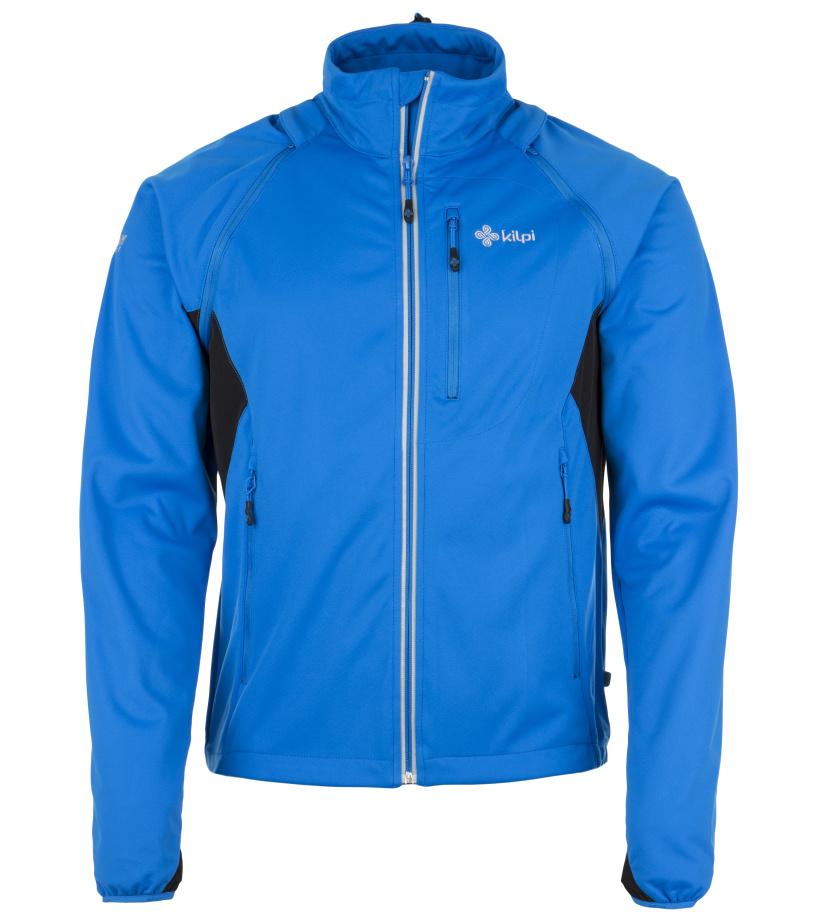KILPI Pánská softshelová bunda TRANSFORMER EM0071KIBLU Modrá M
