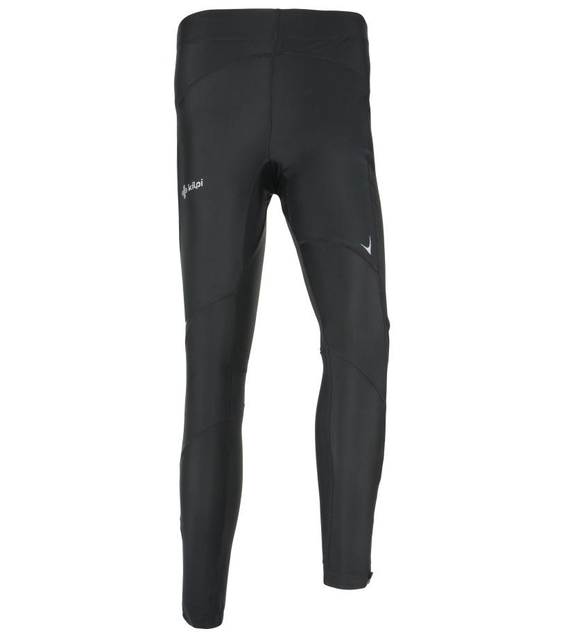 KILPI Pánské sportovní kalhoty RUNNER EM0081KIBLK Černá