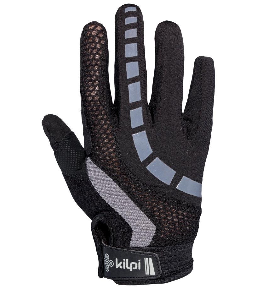 KILPI Cyklistické rukavice REDBUD EU0306KIGRY Šedá