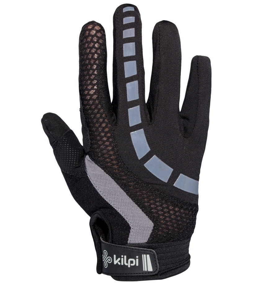 KILPI Cyklistické rukavice REDBUD EU0306KIGRY Šedá XL