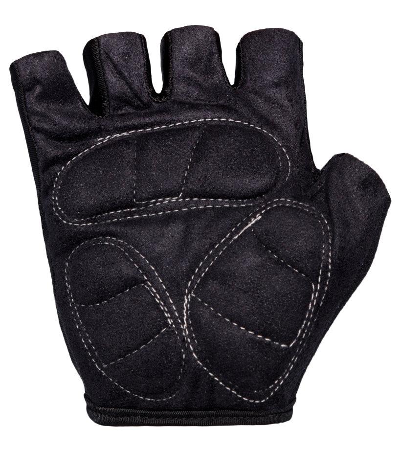 KILPI Cyklistické rukavice AZUMA EU0310KIBLK Černá XL