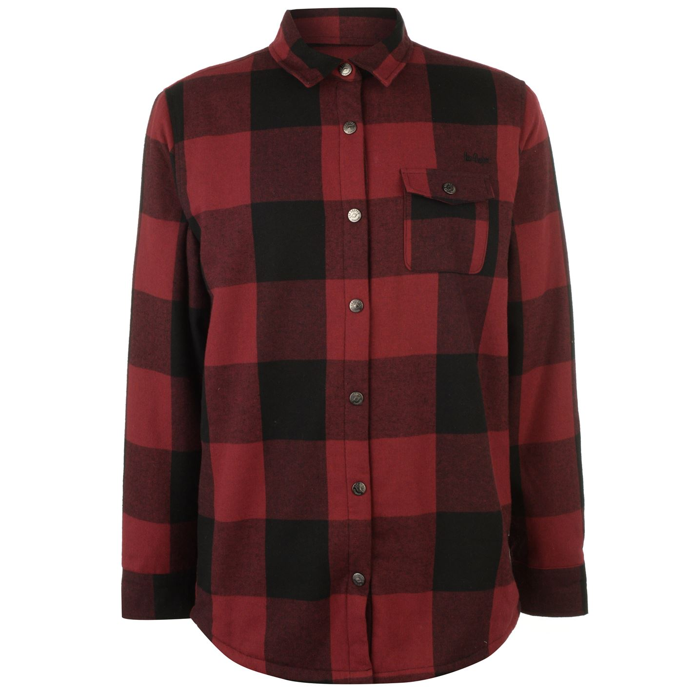 Lee Cooper Lined Flannel Pánská košile 55058503 SD_Large