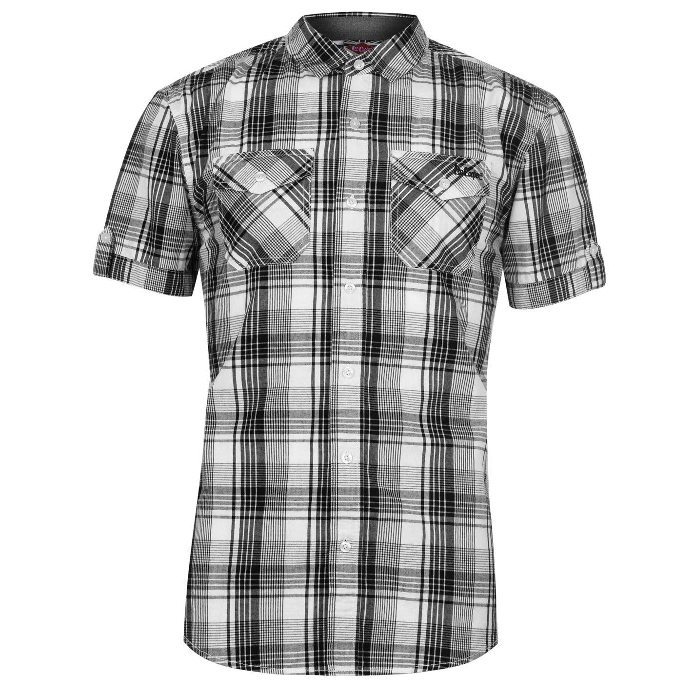 Lee Cooper SS Check Pánská košile 55721530 SD_Large