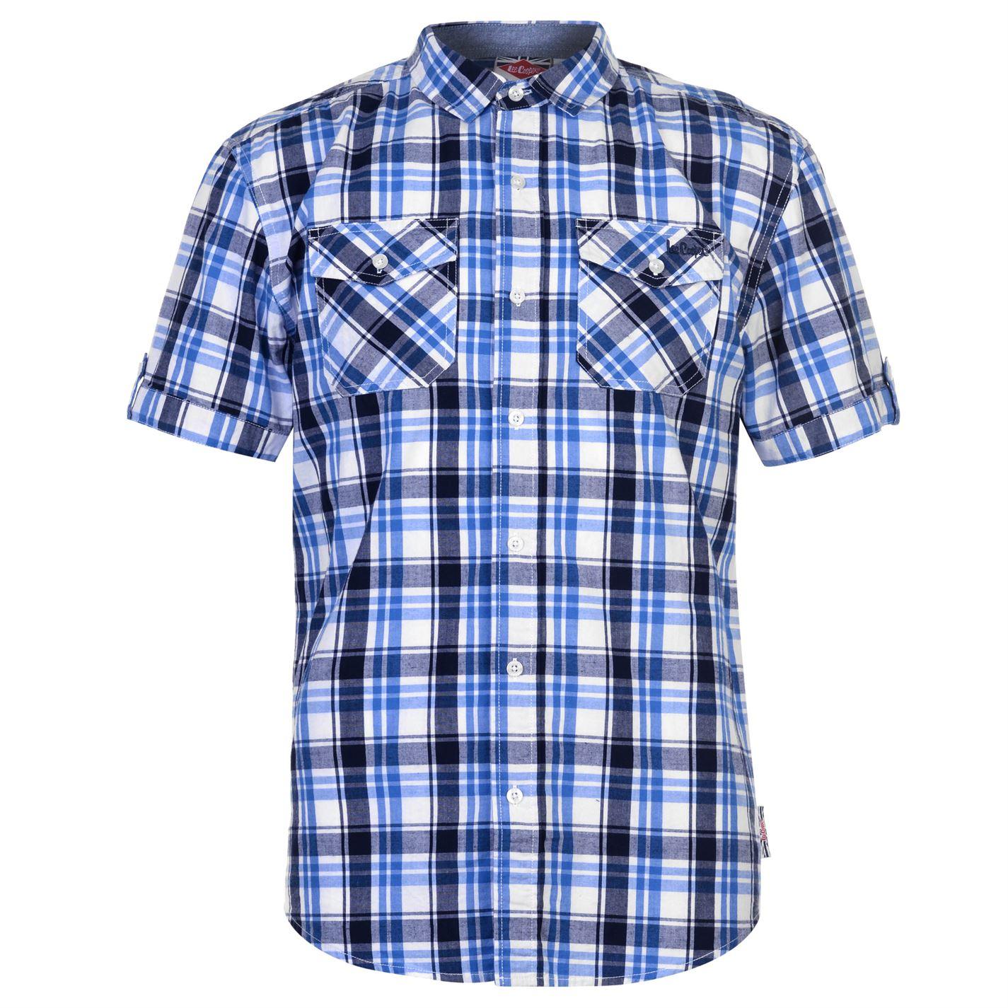 Lee Cooper SS Check Pánská košile 55721538 SD_Large