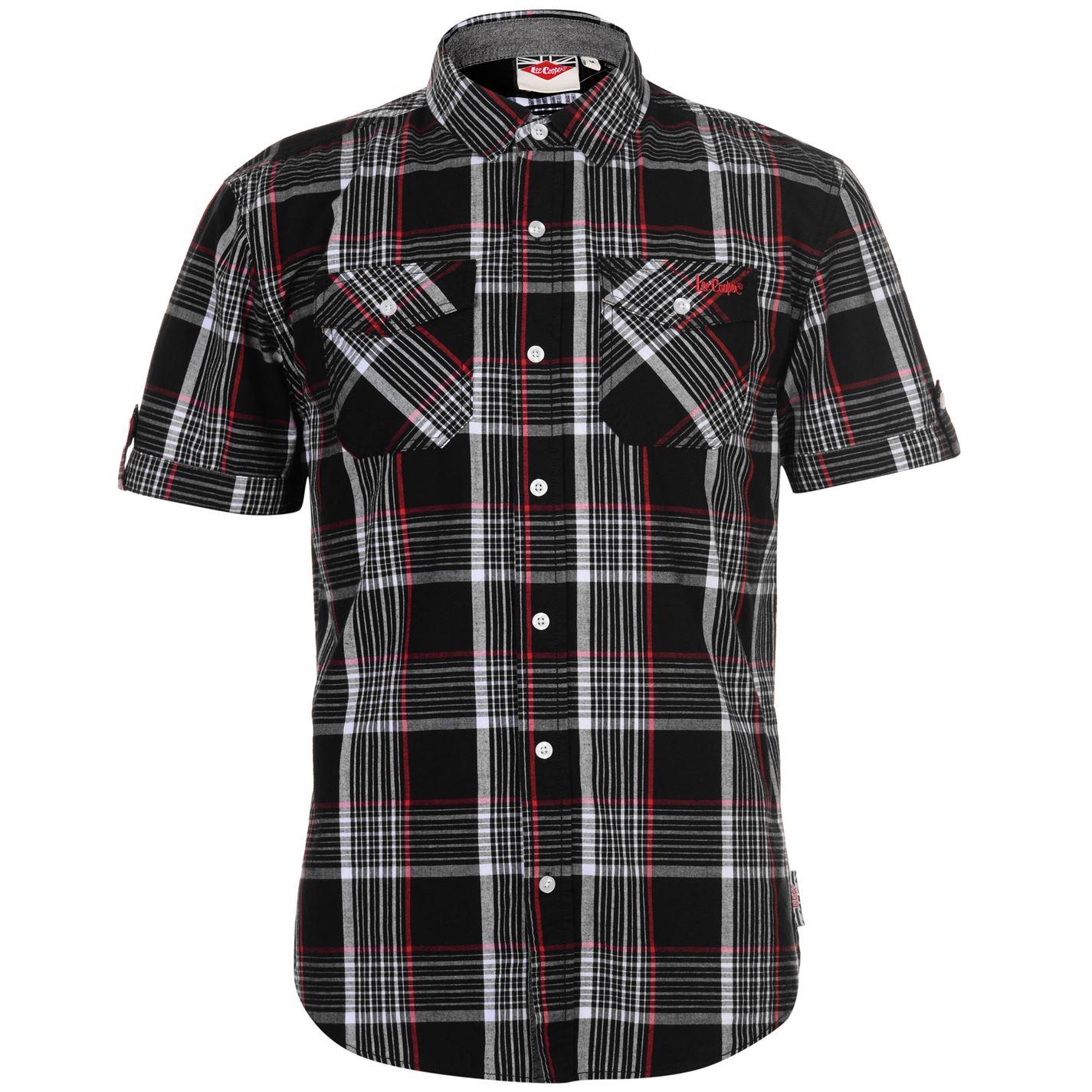 Lee Cooper SS Check Pánská košile 55721540 SD_Large