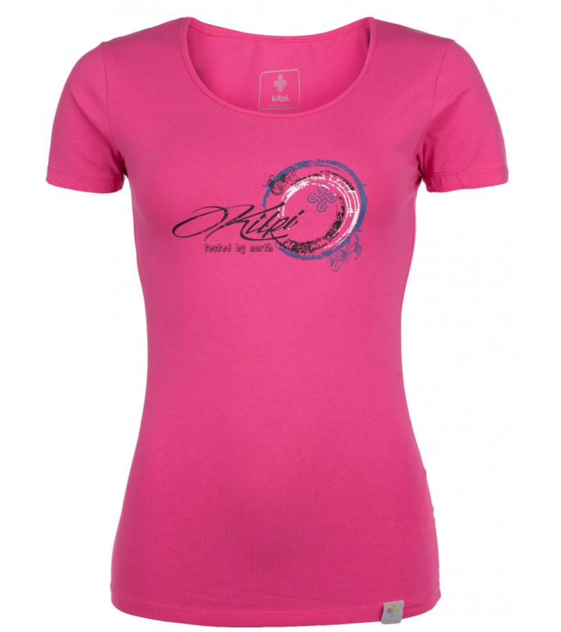KILPI Dámské triko BUBBLE-W HL0168KIPNK Růžová 40