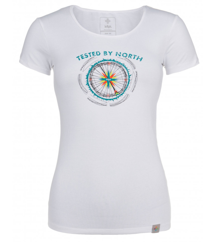 KILPI Dámské triko CAMI-W HL0165KIWHT Bílá 46