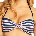 Plavky podprsenka BANDEAU s košíčky. 52198 LITEX