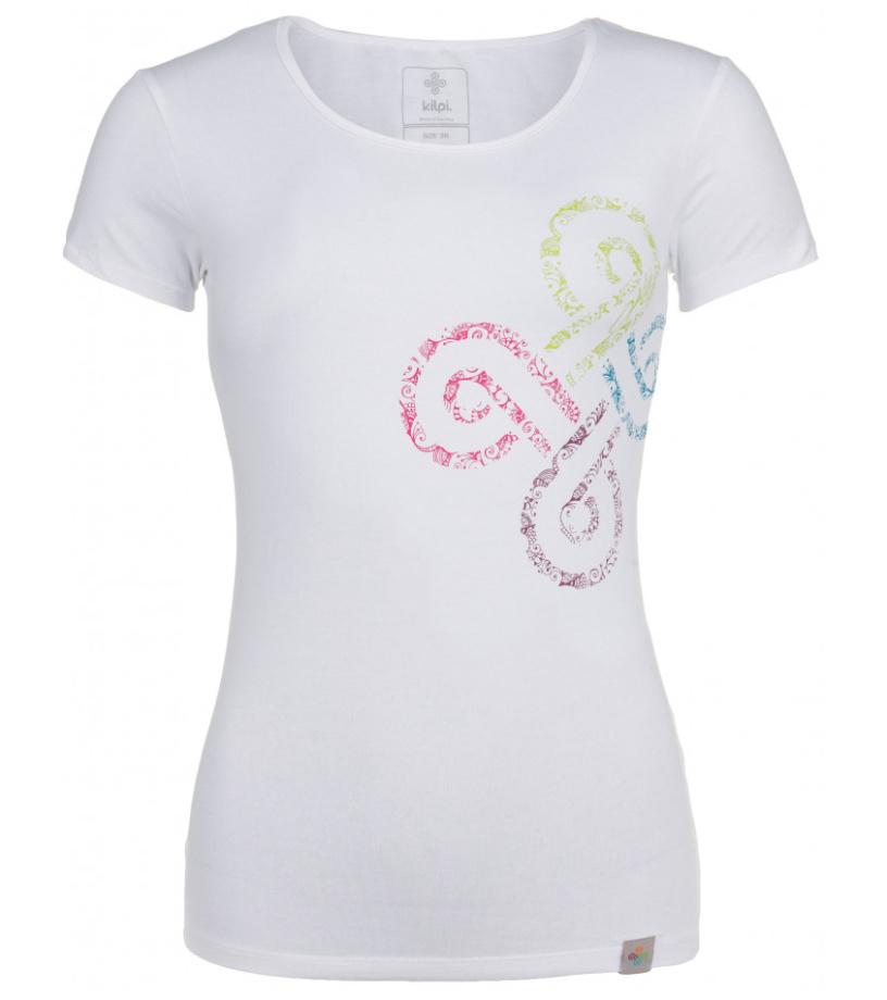 KILPI Dámské triko KA-W HL0171KIWHT Bílá 40