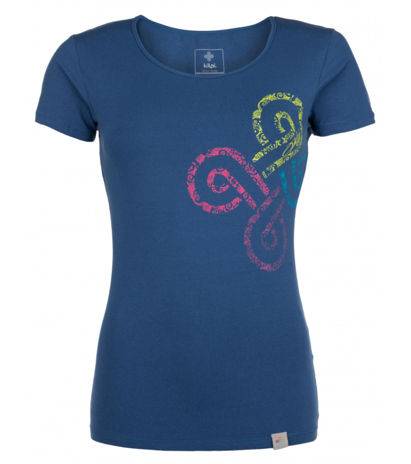 KILPI Dámské triko KA-W HL0171KIDBL Tmavě modrá 42