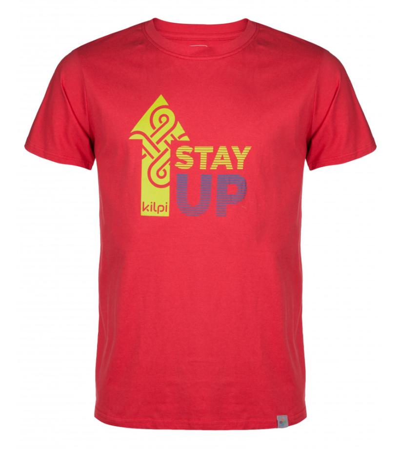 KILPI Pánské triko STAYUP-M HM0097KIRED Červená