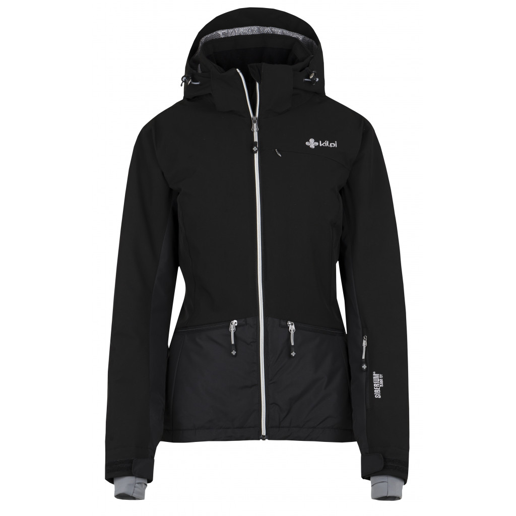 KILPI Dámská lyžařská bunda TESSA-W HL0112KIBLK Černá