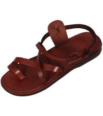 Uni kožené sandály MENKAURE Faraon-Sandals