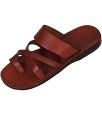 Uni kožené šľapky NARMER Faraon-Sandals