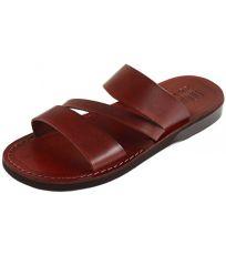 Uni kožené šľapky TAKELOT Faraon-Sandals