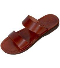 Uni kožené pantofle TAHARKA Faraon-Sandals