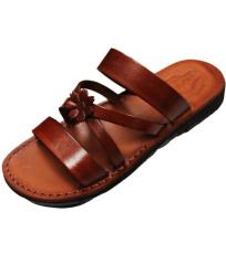 Dámske kožené šľapky SANACHT Faraon-Sandals