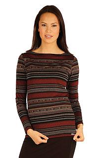 Tričko dámske s dlhým rukávom. 51017999 LITEX