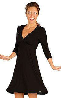 Šaty dámské s 3/4 rukávem. 51130901 LITEX