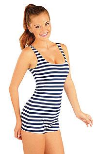 Jednodílné dámské retro plavky. 52218 LITEX