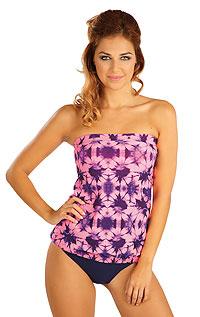 Plavky top dámský s vyjímat. výztuží. 52261 LITEX
