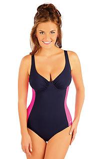 Jednodílné plavky s kosticemi. 52416 LITEX
