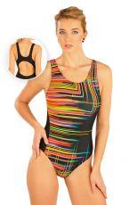 Jednodielne športové plavky. 52490 LITEX