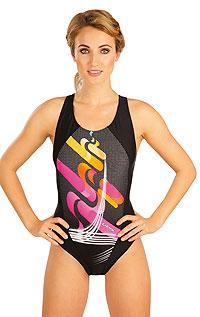 Jednodílné sportovní plavky. 52498 LITEX