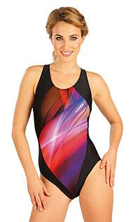 Jednodílné sportovní plavky. 52503 LITEX