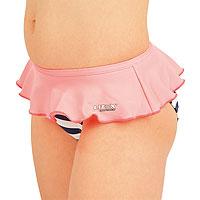 Dívčí plavky kalhotky bokové. 52593 LITEX