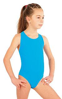 Dívčí jednodílné sportovní plavky. 52627 LITEX