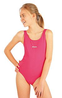 Dívčí jednodílné sportovní plavky. 52628 LITEX