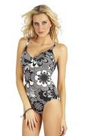 Jednodílné plavky s kosticemi 69029 LITEX