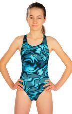 Jednodielne športové dievčenské plavky 6B440 LITEX