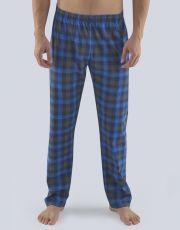 Pánské dlouhé pyžamové kalhoty 79083-DCMMxM GINA