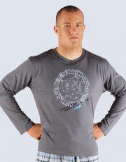 Pánske tričko s dlhým rukávom 79404-DxG GINA
