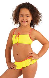 Dívčí dvoudílné plavky. 79677 LITEX