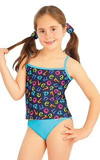 Dievčenské plavkový top. 85612 LITEX