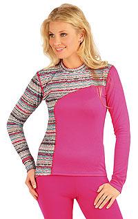 Termo triko dámské s dlouhým rukávem. 87051 LITEX