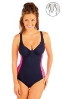 Jednodílné plavky s kosticemi. 88346 LITEX