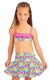 Dívčí plavky top s volánkem. 93534 LITEX