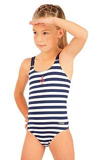 Jednodílné dívčí plavky. 93580 LITEX